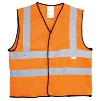 3M 2925 FLU ORANGE SAFETY VEST SIZE M