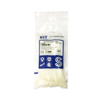 CABLE WIRE TIES 8   PACK OF 100 WHITE
