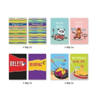 F980 NOTEBOOK 16X23.5CM 60G 80 SHEETS
