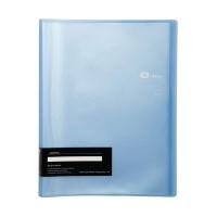 E-FILE 710A DISPLAY BOOK A4 20 POCKS BLUE