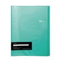 E-FILE 710A DISPLAY BOOK A4 20 POCKS GREEN