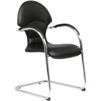 ACURA เก้าอี้สำนักงาน LG1/CM หนังเทียม ดำ