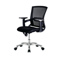 ZINGULAR เก้าอี้สำนักงาน MONICA ดำ
