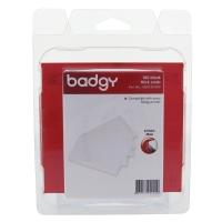 BADGY บัตรแข็งสำหรับพิมพ์ หนา 0.76มม. - 1 แพ็ค บรรจุ 100 ใบ