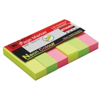 ELEPHANT PAPER FLAGS 12MM X 50MM 3 NEON COLOURS 480 FLAGS
