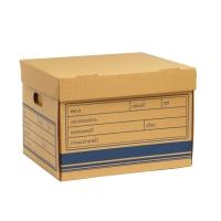PAPERARTกล่องเก็บเอกสาร 38X43X30 เซนติเมตร 1 แพ็ค บรรจุ 2 กล่อง