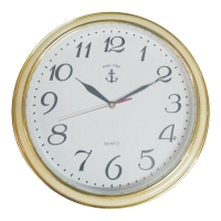 2322 WALL CLOCK 14 INCHES WHITE