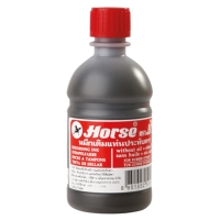 HORSE STAMP PAD INK REFILL 200CC RED