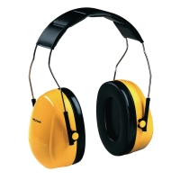 3M PELTOR OPTIME H9A EARMUFF HEADBAND 25dB YELLOW