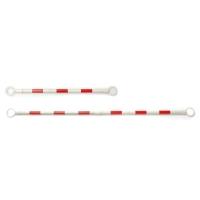 BARRICADE 120-200 CM WHITE/RED