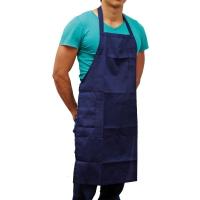 ผ้ากันเปื้อน AM221-222 ทีซี น้ำเงิน