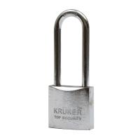 KRUKER กุญแจสปริงโครเมี่ยม คอยาว 38มม