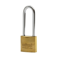 KRUKER กุญแจสปริงทอง คอยาว 38มม