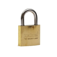 KRUKER กุญแจสปริงทอง คอสั้น 32มม