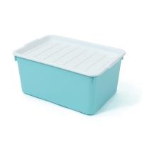 2056 กล่องพลาสติกอเนกประสงค์ 31.5x45.5x22 ซม.คละสี