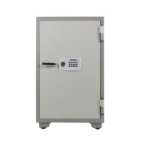 VITAL ตู้เซฟป้องกันไฟ VT-130D รหัสหมุน เทา