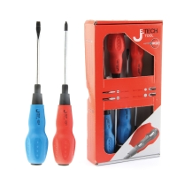 JE-TECH SCREWDRIVER SET - 4 PIECES