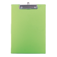 ORCA 102 PVC PLASTIC COVERED CLIPBOARD A4 GREEN