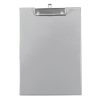 ORCA 102 PVC PLASTIC COVERED CLIPBOARD A4 GREY