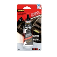 SCOTCH BLACK RUBBER ADHESIVE GLUE FOR HARD DUTY 40ML