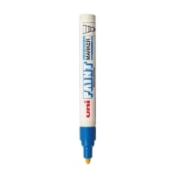 UNI PX20 PAINT MARKER BULLET TIP 2.2 TO 2.8MM - BLUE