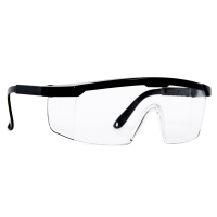 DELIGHT แว่นตานิรภัย P650-HD เคลือบกันรอย เลนส์ใส