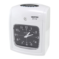 VERTEX ST-710 TIME RECORDER