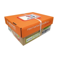 IQ CARBONLESS CONTINUOUS PAPER 3 PLY 9  X5.5   BOX OF 1000 WHITE
