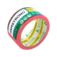 ARMSTRONG CLOTH TAPE 2   X 8 YARDS 3   CORE RED