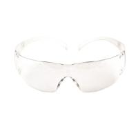3M แว่นตานิรภัย SECURE FIT SF201AS เคลือบสารป้องกันรอยขีดข่วน เลนส์ใส