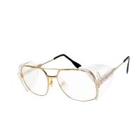 EAGLE NV-9233 GLDC SAFETY GLASSES GOLD FRAME