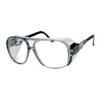 EAGLE แว่นตานิรภัย NV-9289 GRC เลนส์ใส กรอบเงิน