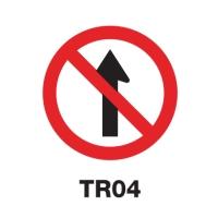 ป้ายจราจร TR04 อลูมิเนียม 60 เซนติเมตร