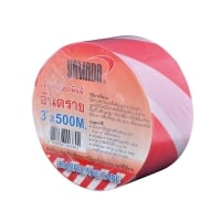 YAMADA BARRIER TAPE 2 INCHES 100 METERS WHITE/RED