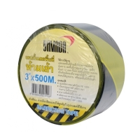 YAMADA BARRIER TAPE 3 INCHES 100 METERS YELLOW/BLACK