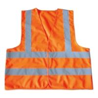 YAMADA เสื้อจราจร OR-6666AF 65X66 เซนติเมตร ส้ม