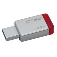 KINGSTON DT50 FLASH DRIVE 32GB RED