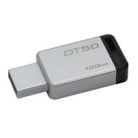 KINGSTON แฟลชไดรฟ์ DT50 128 GB ดำ