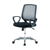ZINGULAR เก้าอี้สำนักงาน IRENE ดำ