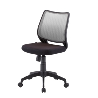 ZINGULAR เก้าอี้สำนักงาน ALICE เทา/ดำ