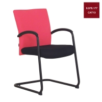 ACURA OWNER/C OFFICE CHAIR FABRIC RED