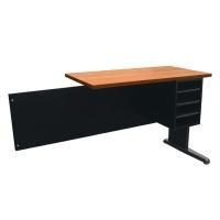 ACURA โต๊ะทำงานไม้ JKS1-40 เชอรี่/ดำ ขวา