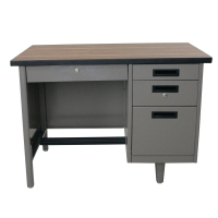 APEX ANT-2642 STEEL OFFICE DESK GREY