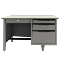 APEX ATC-2642 STEEL OFFICE DESK GREY