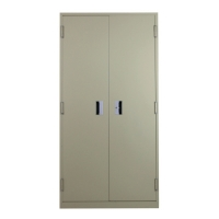 LUCKY SH-756 STEEL STORAGE CUPBOARD GREY