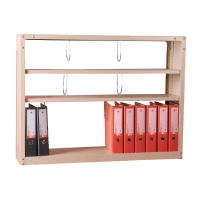 LUCKY S-204 STEEL BOOK SHELF CREAM