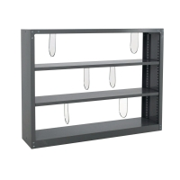 LUCKY S-204 STEEL BOOK SHELF GREY