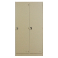 METALPRO MET-6102N STEEL LOCKER 2 DOORS CREAM