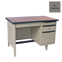 KINGDOM NTC-2648 STEEL TABLE GREY
