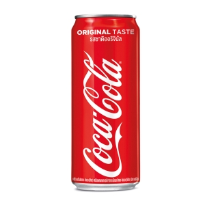 COKE น้ำอัดลม 325 มิลลิลิตร แพ็ค 24